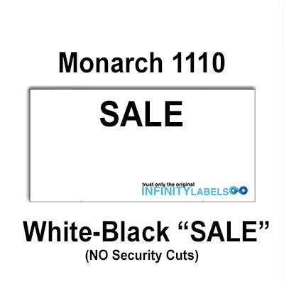 WHITE LABEL FOR MONARCH 1110 PRICING GUN 15 SLEEVE = 1 CASE