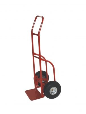 Milwaukee Hand Trucks 47112 Flow Back Handle Truck with 10-Inch Solid Puncture Proof Tires