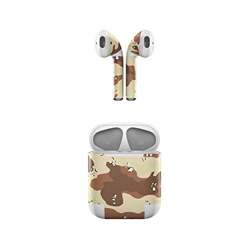 Skin Decals for Apple AirPods - Desert Camo - Sticker Wrap ()