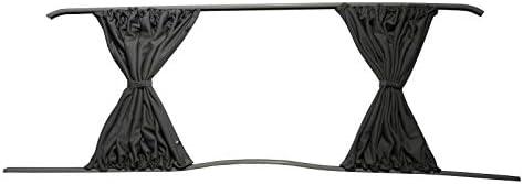 Gris Camper Van cortinas Kit para puerta corredera mano izquierda, mano derecha panel lateral y portón trasero: Amazon.es: Coche y moto