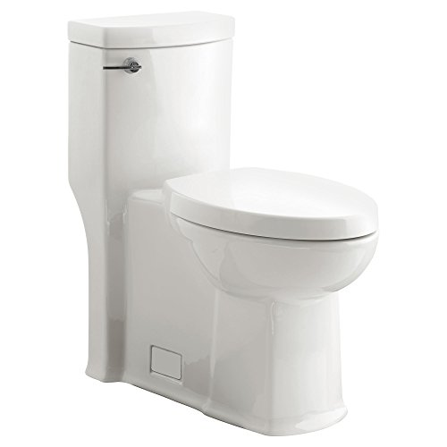- American Standard 2891128.020 Boulevard Flowise Right Height Elongated One-Piece 1.28 Gpf Toilet, White