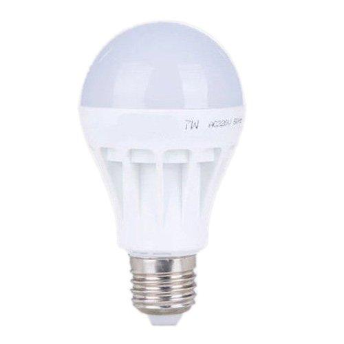 SODIAL(R)E27 Ahorro de Energia LED Bombilla Luz Lampara 220V (7W Blanco Frio Nueva Imitar Ceramica)