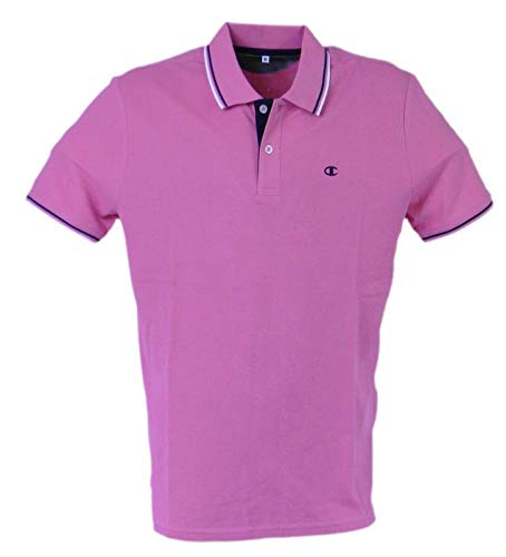 Champion - Polo de Manga Corta para Hombre Light Cotton Pique, 175 ...