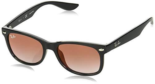 2badca3a55 Ray-Ban Junior Kids' 0rj9052s Non-Polarized Iridium Square Sunglasses,  BLACK,