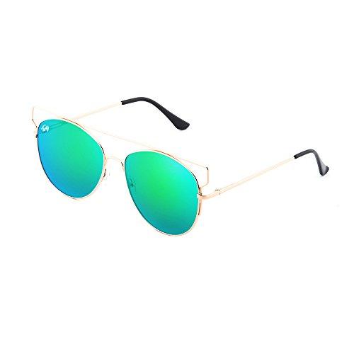 degradadas TZARA sol Bronce Verde de espejo TWIG Gafas mujer qOfXgtx