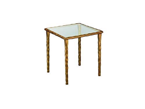 Jamie Young Company 20JMF2-CTCL JMF Shelved Console Table, Clear Glass