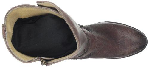 Frye Botas de Jayden moto puño para las mujeres Café Oscuro