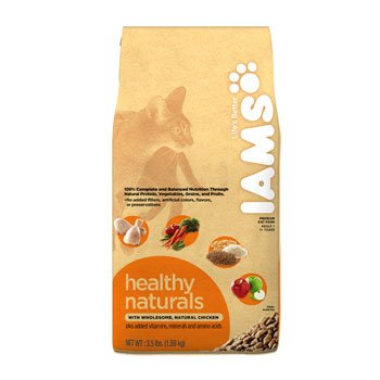 Iams Healthy Naturals Chicken Formula Adult Cat Food, My Pet Supplies