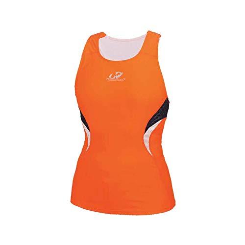 Top Triathlon Hammerhead Feminino Short Distance Whzs3 Marinho Laranja Branco Tamanho: Gg