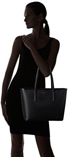 Shopping Chantaco Lacoste Medium Zip Black Bag tx1tYwdBq