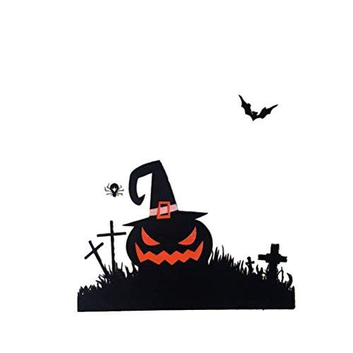 (BinaryABC Halloween Candy Bag,Halloween Goodie Bags,Trick or Treat Bags,Self Adhesive)
