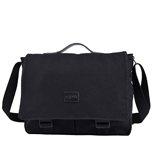 Computer Travel Backpack Section Carrying Black Shoulder Canvas Cross Sports Business Bag Men's Zhrui yRqSPUcwyB