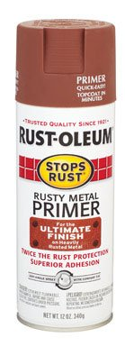 12 oz. Rusty Metal Primer Spray Paint [Set of 6] (Best Metal Primer For Rusty Metal)