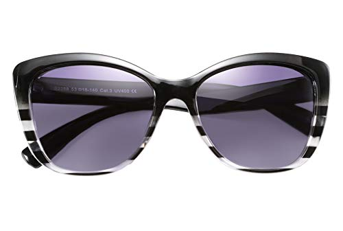 FEISEDY Polarized Vintage Sunglasses American Square Jackie O Cat Eye Sunglasses ()