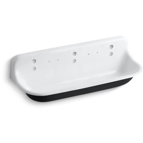 Kohler Wash Sink - KOHLER K-3203-0 Brockway Wash Sink, White