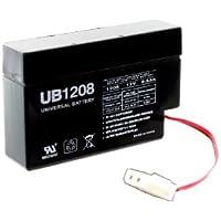 UPG 45791 - UB1208 - AGM Battery - Sealed Lead Acid - 12 Volt - 0.8 Ah Capacity - WL Terminal