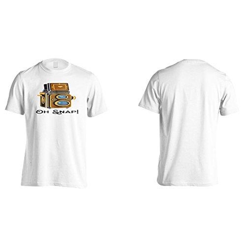 Oh Schnappkamera Herren T-Shirt n592m