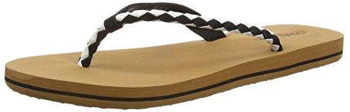 O'Neill Queen Flip Flop, Women's Beach Thong Sandals & Pool Shoes Noir (9011 Black Out)