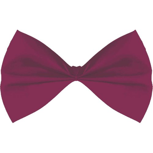 Amscan Bowtie Party Accessory Burgundy
