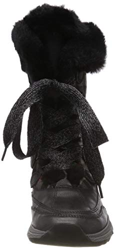 Comb black Tozzi 098 Nieve Negro Para 31 26715 Marco Botas Mujer De aS1nqZ