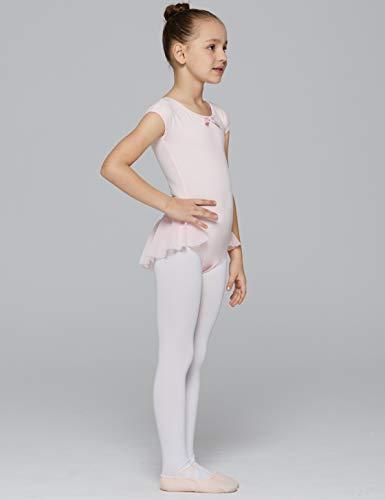 ccf90ab2f Jual MdnMd Girls  Cap Sleeve Flutter Waist Leotard Dress - Active ...