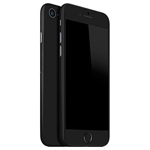 finest selection 8e965 d94f5 GADGETS WRAP iPhone 8 Matte Series Mobile Skin (Both Sides) - Black Color  -CO- A13B01