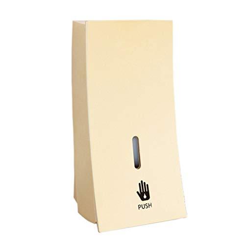 Kitchen Sink Accessories Soap Dispenser Wall-Mounted Shampoo Hand sanitizer Bottle Bathroom Hotel Bathroom Shower Gel Box Home (Color : Gold, Size : 8.911.422.9cm)