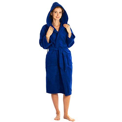 (Silken Kids Teenagers Kids Boys Hooded Bath Robe Unisex 100% Turkish Cotton (S/M 26