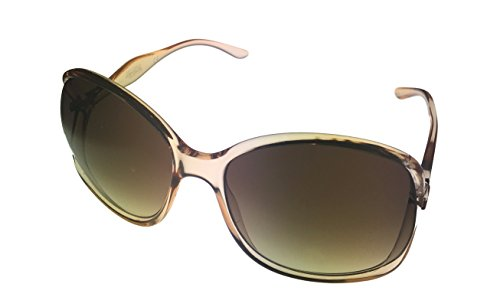 Kenneth Cole Women's Butterfly Transparent Pink Sunglasses