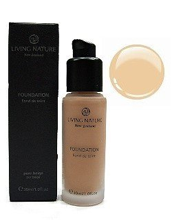 Living Nature Mineral Make-up - pure sand (30 ml) by Livi...
