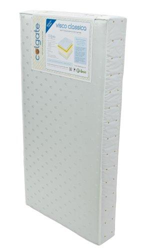 (Colgate Visco Classica Foam Crib Orthopedic Mattress | Memory Foam | 51.6