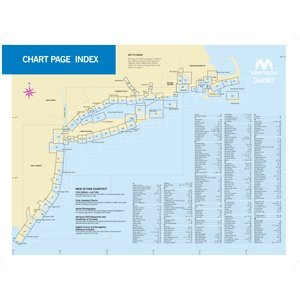 Maptech ChartKit® Book w/ Companion CD: Region 3 - New York to Nantucket and to Cape May ()