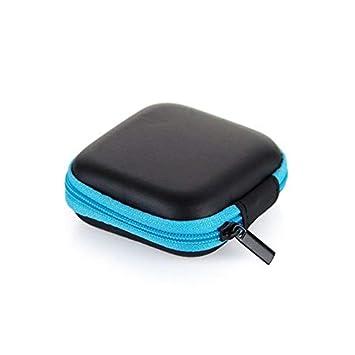 Amazon.com: Colorido portátil mini cremallera redondo duro ...