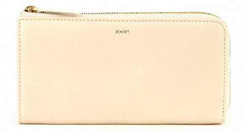 JOOP! Lilaia Soft Leather Slim Wallet Offwhite