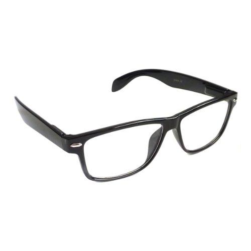 NERD Eyewear Vintage Style Frame Rx-able Clear Lens Eye Glasses - Frames Attitude Glasses
