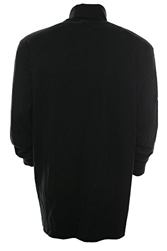 Kitaro Rolli Rollkragen Shirt Herren LOngsleeve Langarm Basic Plusgröße, Farbe:schwarz;Herrengrößen:XXL