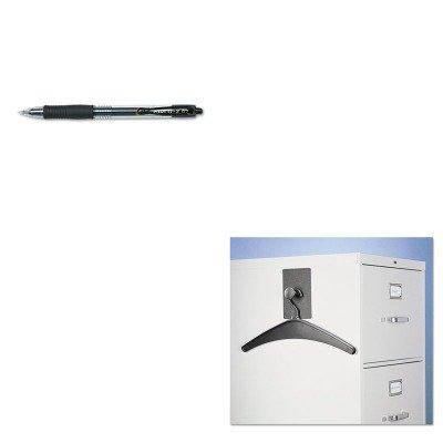 KITPIL31020QRT2015M - Value Kit - Quartet Magnetic Coat Hook w/Heavy-Duty Hanger (QRT2015M) and Pilot G2 Gel Ink Pen (PIL31020)