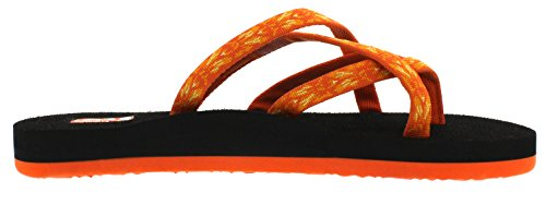 Tongs Orange 872 Femme Teva Olowahu W's hazel 87xSFS