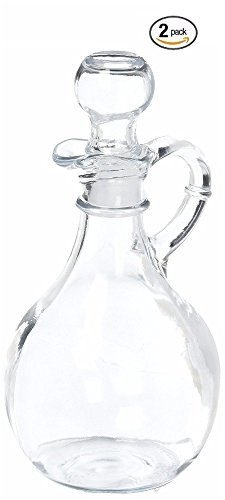 Anchor Hocking 980R Presence Cruet With Stopper, 2-Pack