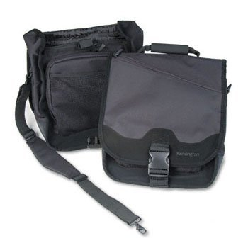 Kensington® SaddleBag Laptop Carrying Case CASE,SADDLEBAG,COMP,BK/BK (Pack of2) ()
