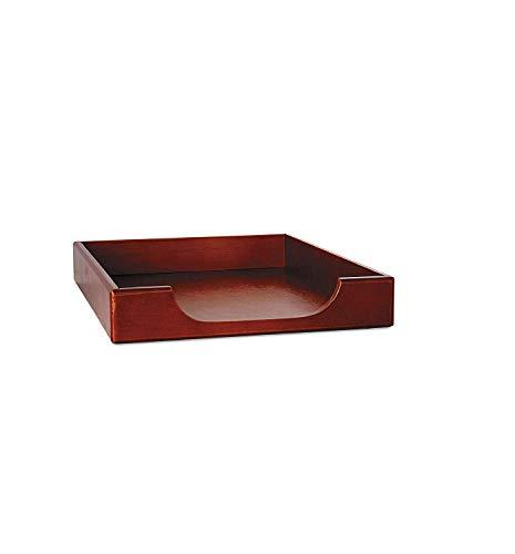 - Eldon Office Products 23360 Wood Tones Legal Desk Tray, Wood, Mahogany