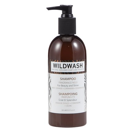 WildWash PRO for Beauty and Shine Dog Shampoo - Natural Skin and Coat Care for Pets 300 ml (No. 3 - Sweet Orange, Coriander and Cedarwood) by WildWash PRO by Andrew Cooper