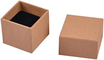 リング収納ボックス ジュエリーケース ネックレスケース アクセサリケース - A