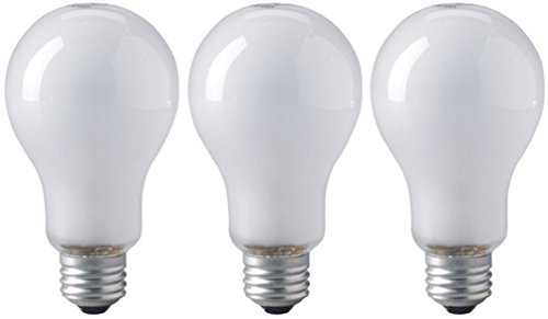 Eiko ECA Photoflood Lamp 250W 120V 3200K - Pack of 3 Bulbs (Bulb White Eiko Incandescent Light)