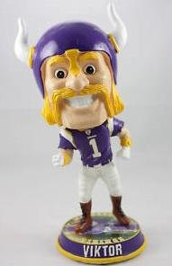 - 2010 Minnesota Vikings Mascot Viktor Big Head Bobblehead
