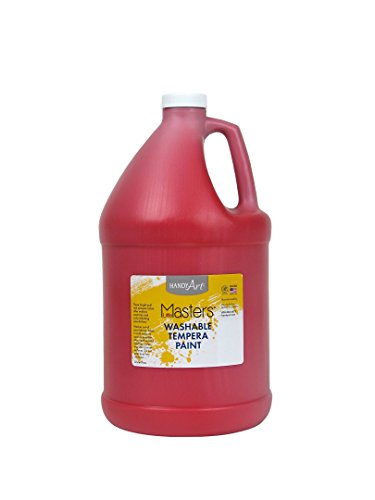 Handy Art® Little Masters Washable Tempera Paint Gallon, Red by Handy Art®