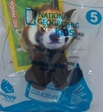 Mcdonalds Toy Figure - McDonald's Happy Meal, 2018 National Geographic Red Panda