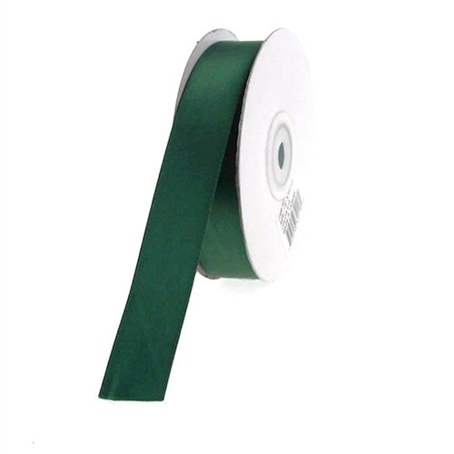 Homeford Firefly Imports Double Face Satin Ribbon, 7/8-Inch, 25 Yards, Hunter Green, 7/8