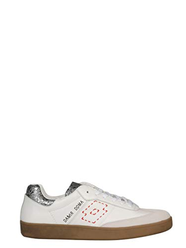 Doma Leather - Damir Doma Men's Cf1m0044l203402 White Leather Sneakers