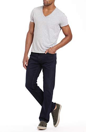 Mavi Mens Matt Relaxed Straight Leg, Deep Indigo Williamsburg 36 x 32 ()